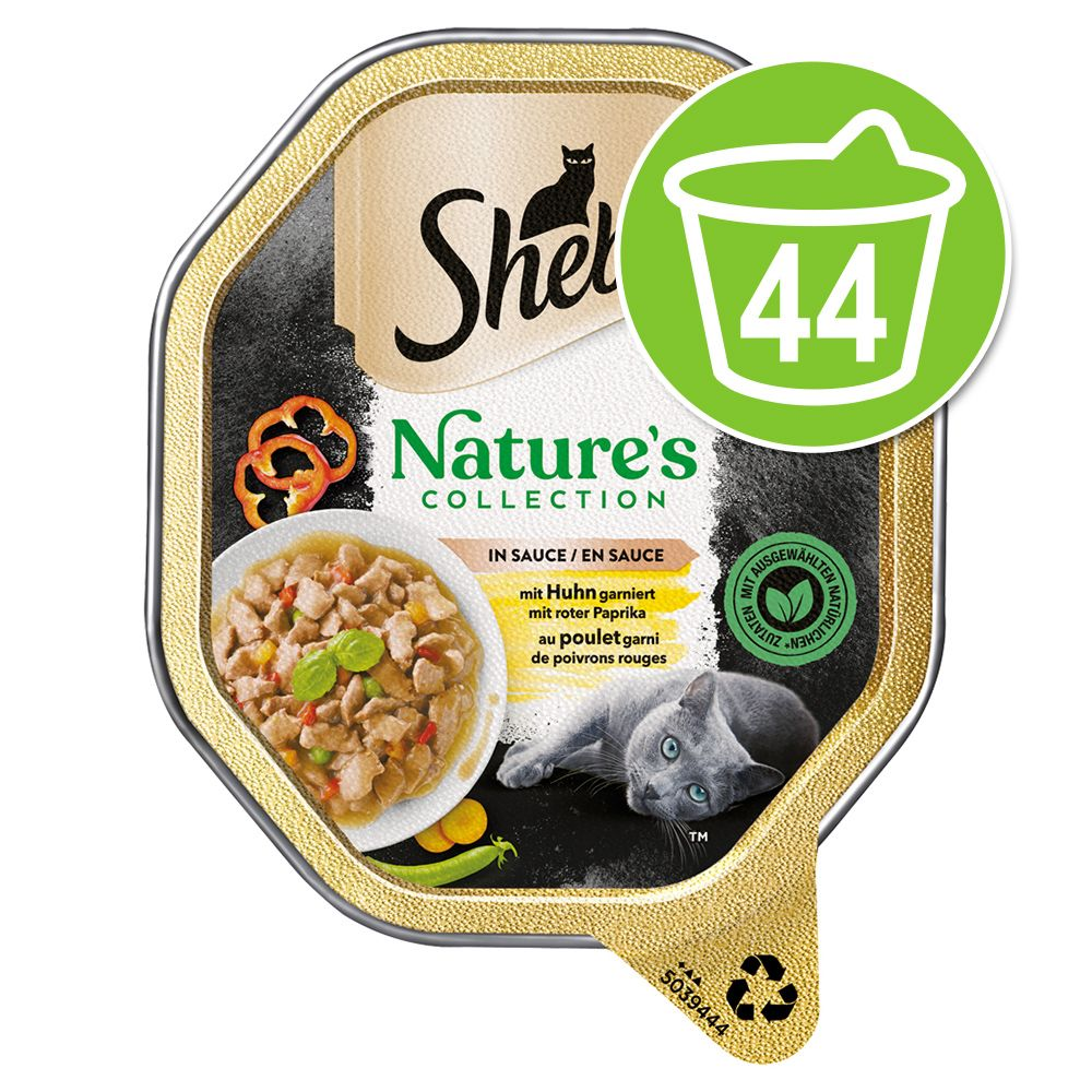 Ekonomipack: Sheba Nature's Collection in Sauce 44 x 85 g - Kyckling
