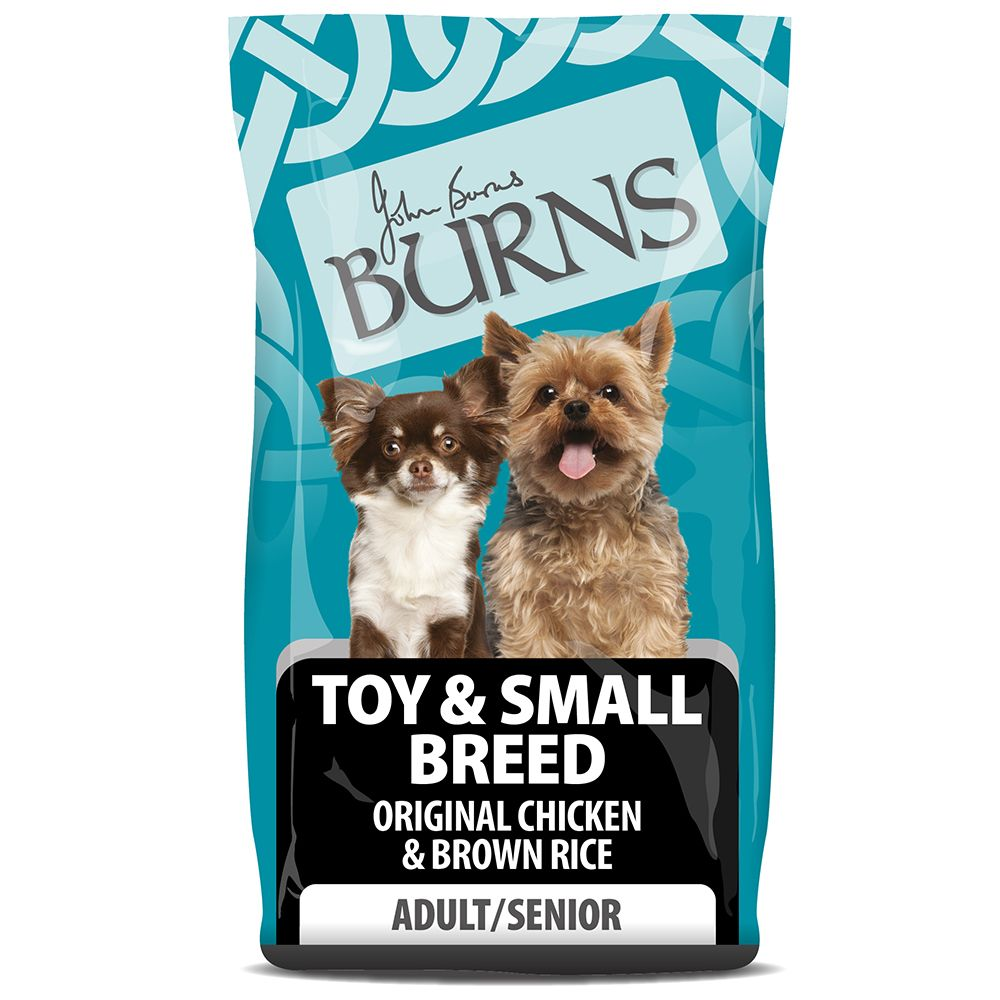 Burns Adult & Senior Original Toy & Small Breed - 15% Off!* - Chicken & Rice (6kg)