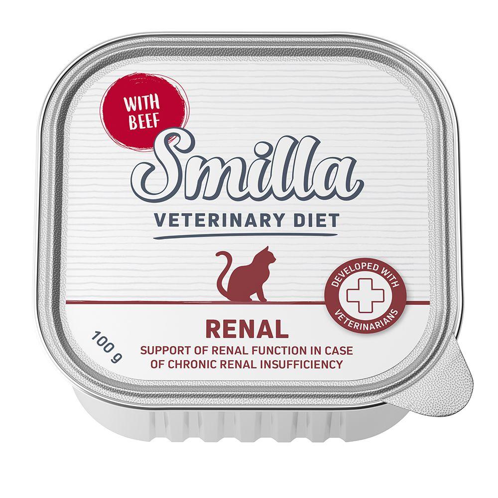 Smilla Veterinary Diet Renal Beef - 8 x 100 g