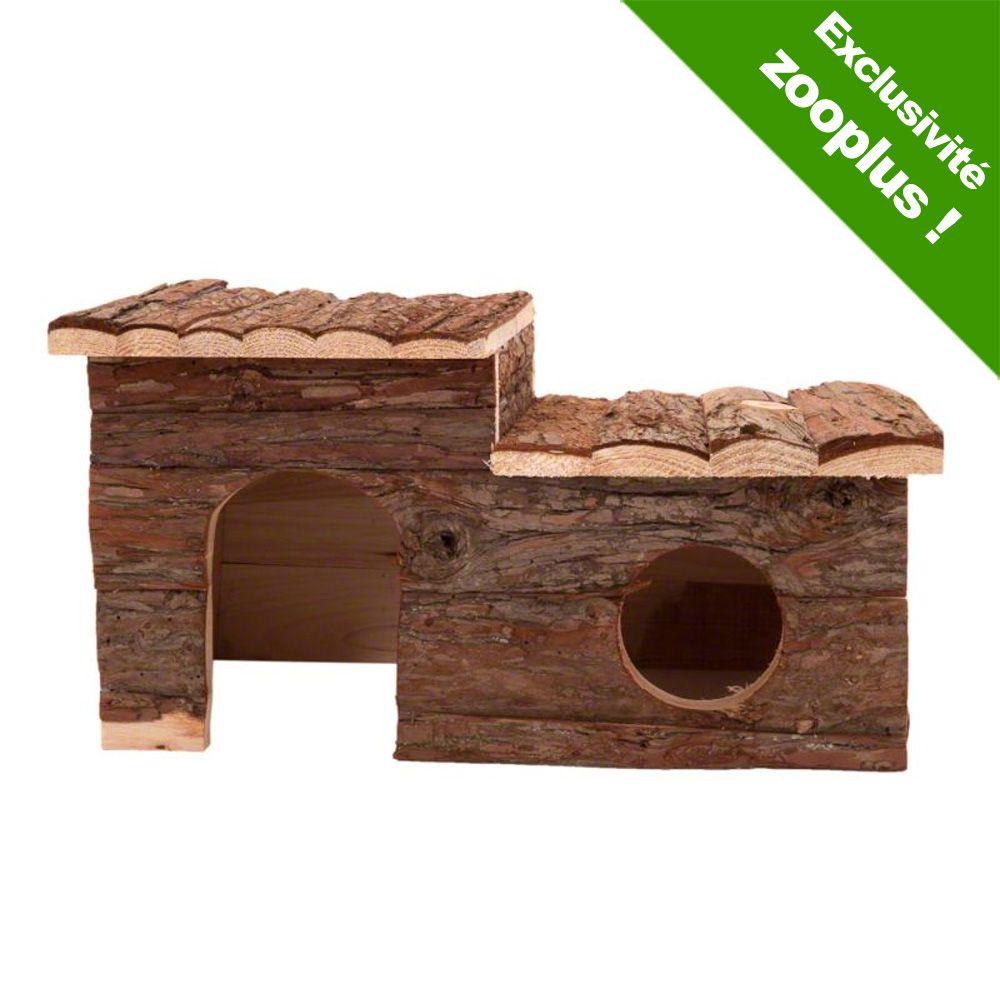 Rongeur Co Accessoires Grande maisonnette Maisonnette en bois pour rongeur