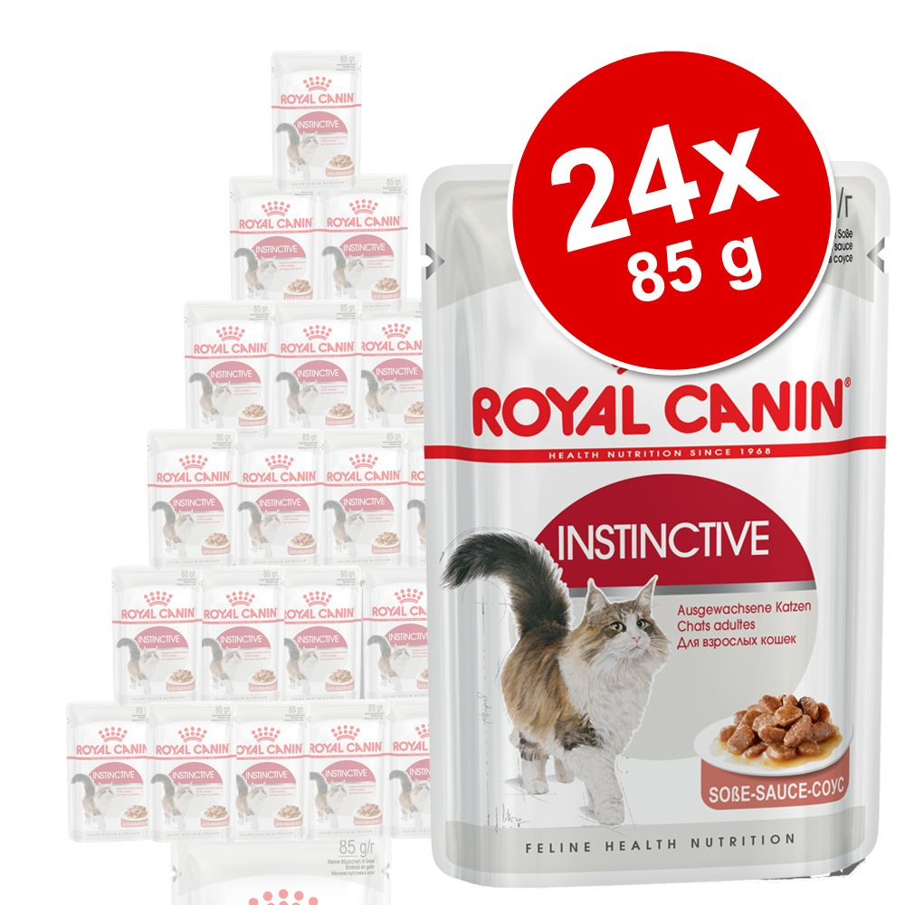 Ekonomipack: Royal Canin våtfoder 24 x 85 g - Sterilised Loaf i mousse