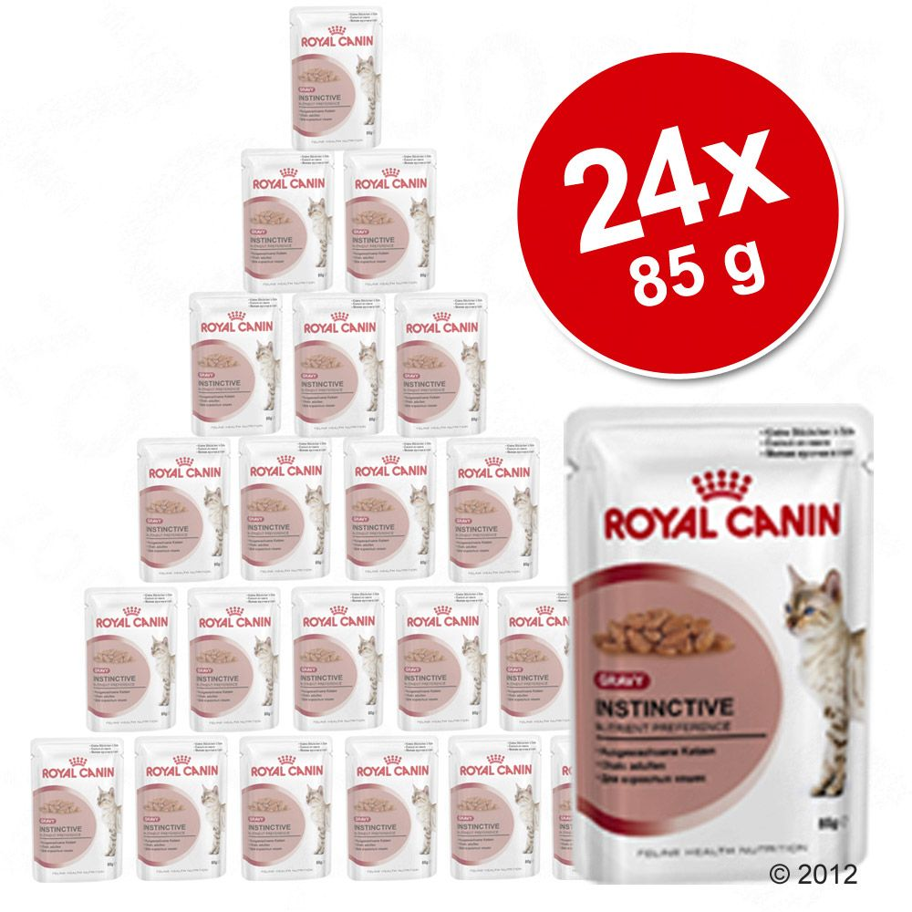 Sparpaket Royal Canin 24 x 85 g - Kitten Instinctive in Soße