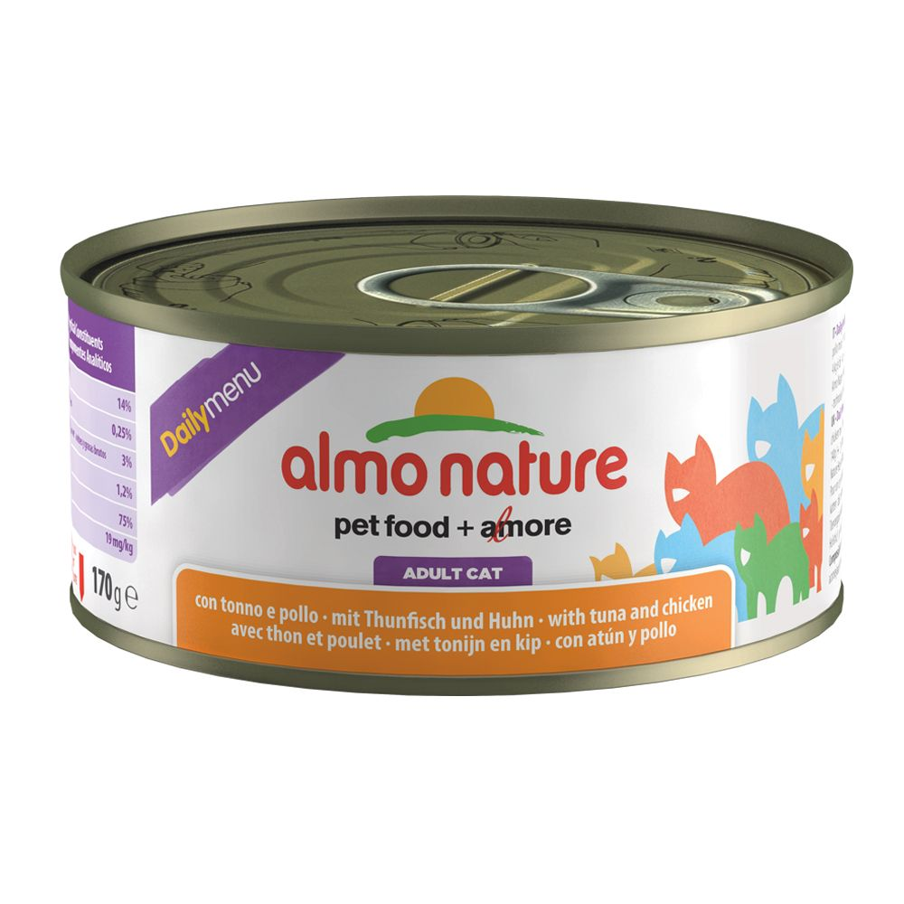 Almo Nature Daily Menu 6 x 170 g - Thunfisch & ...
