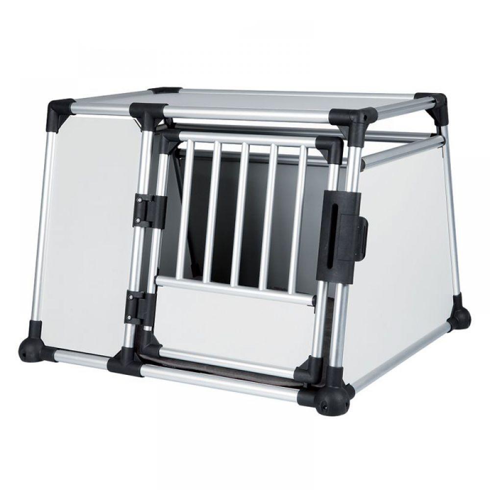 Transporter aluminiowy Trixie, L - gł. x szer. x wys.: 93 × 81 x 64 cm