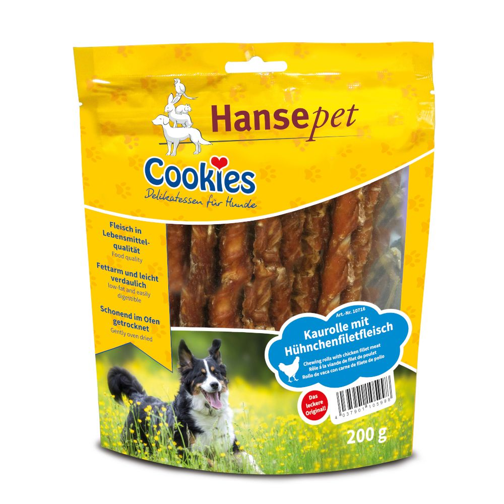 Cookie's Dog Snacks Chicken Twist Strips