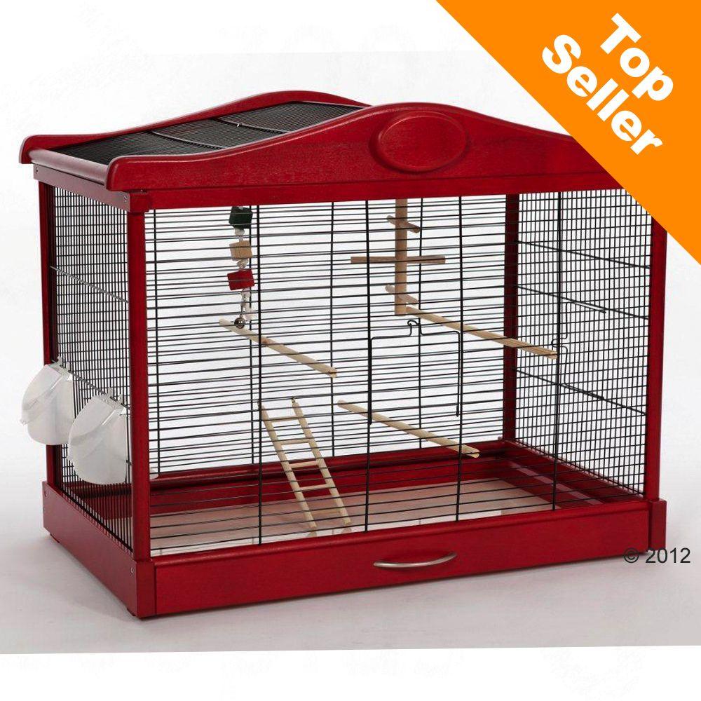 Cage à oiseaux Skyline Lena - L 45 x l 80 x H 60 cm