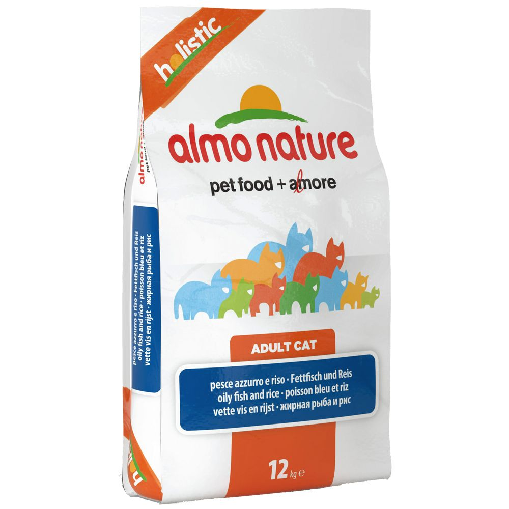 Almo Nature Holistic Oily Fish & Rice - Economy Pack: 2 x 12kg
