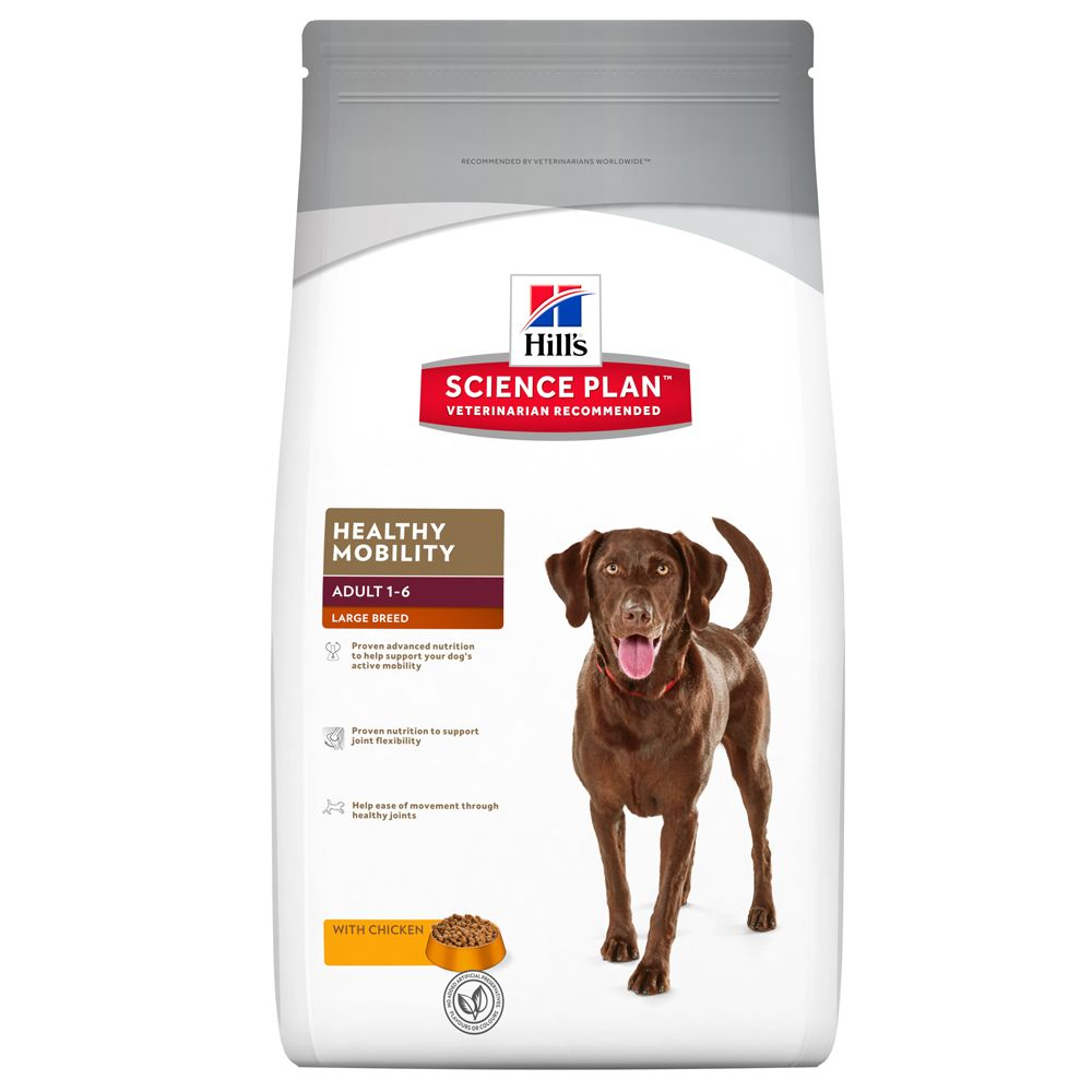 Click to view product details and reviews for Hills Science Plan Adult Healthy Mobility Large Breed With Chicken 12kg.