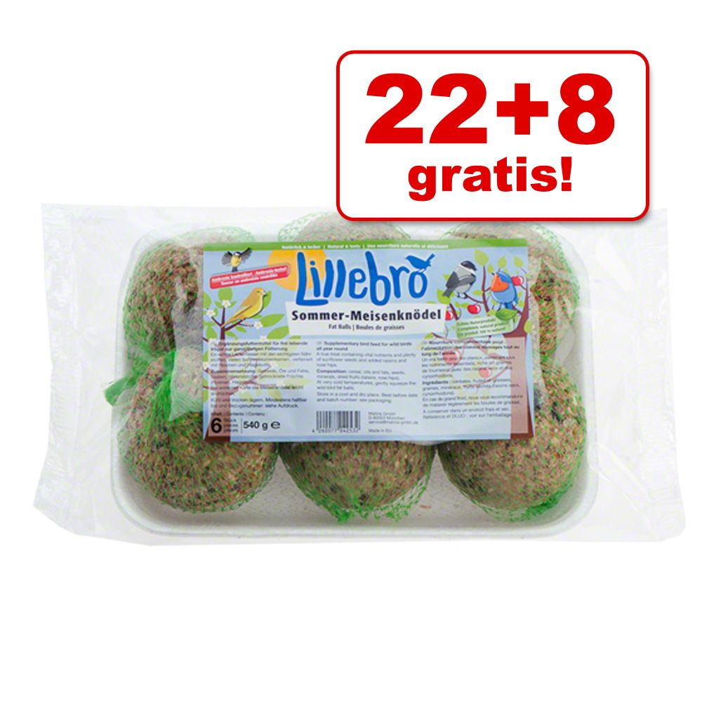 22 + 8 gratis! Lillebro Sommer Meisenknödel - 3...