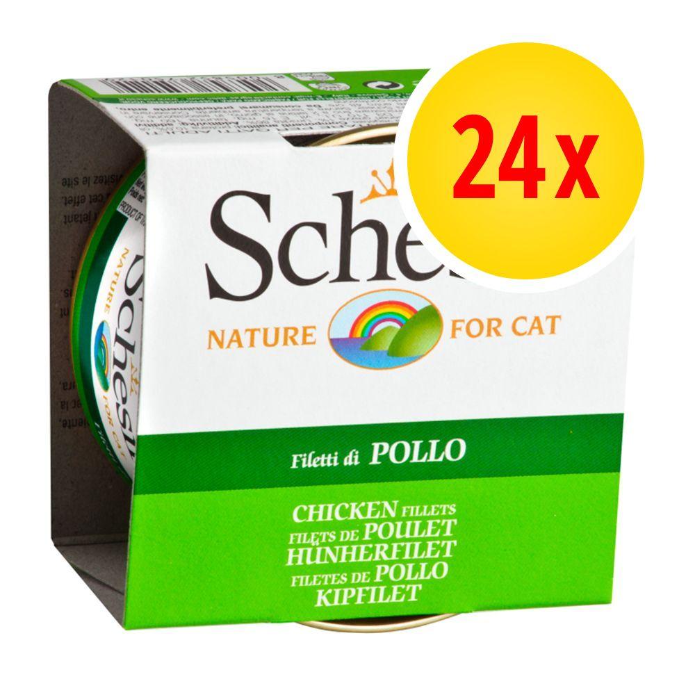 Lot Schesir 24 x 85 g - Kitten thon, aloe