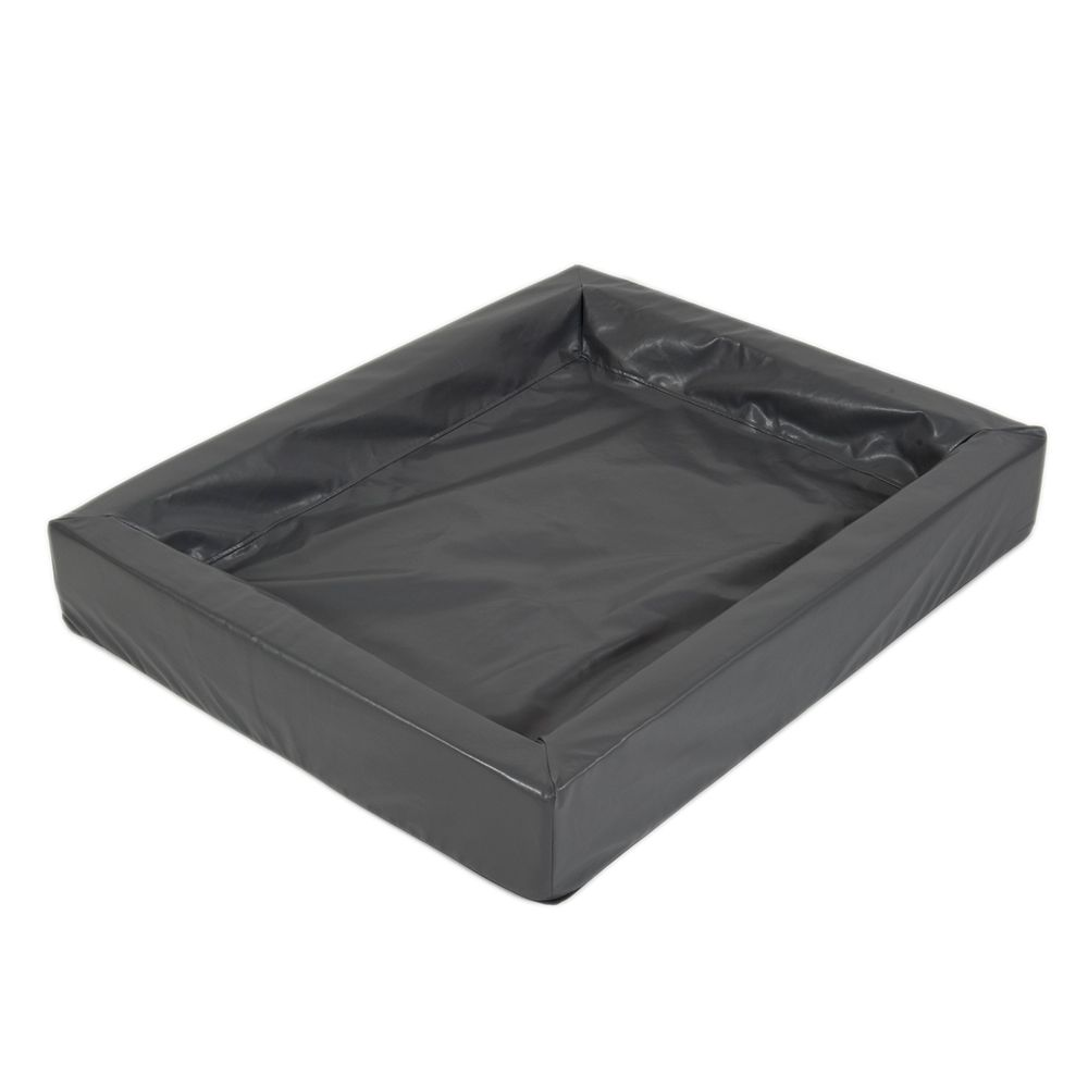Das hygienische Hundebett in granit mit L 100 x B 80 cm