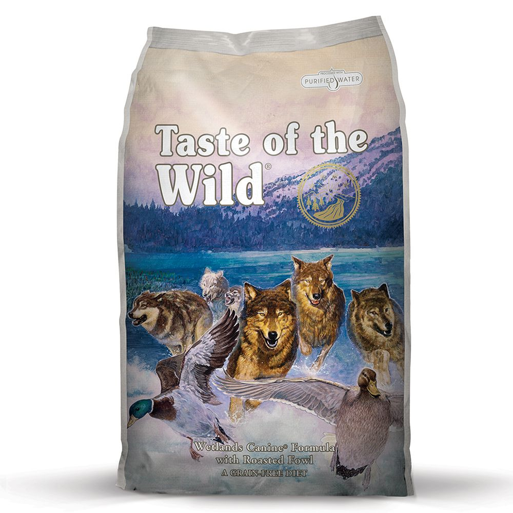 Wetlands Adult Taste of the Wild Dry Dog Food