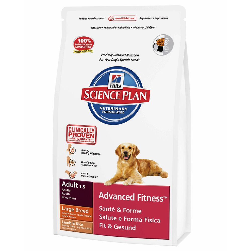 Hill's Science Plan Adult Advanced Fitness Large Lamb & Rice - 12kg