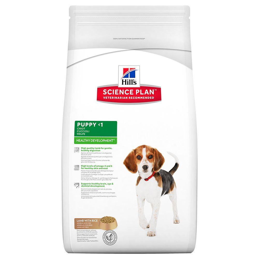 Hill's Science Plan Puppy Healthy Development Medium Lamb & Rice - 12 kg