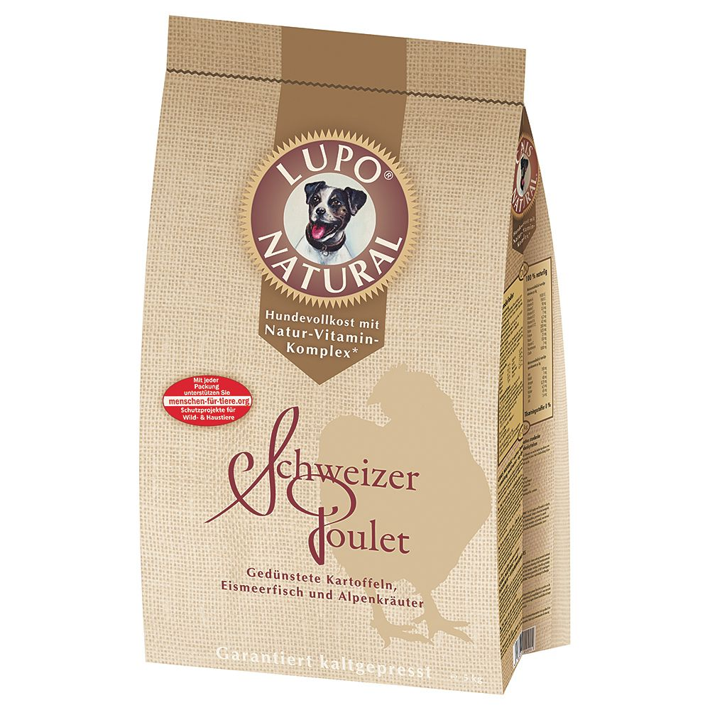 Natural Swiss Chicken Lupo Dry Dog Food