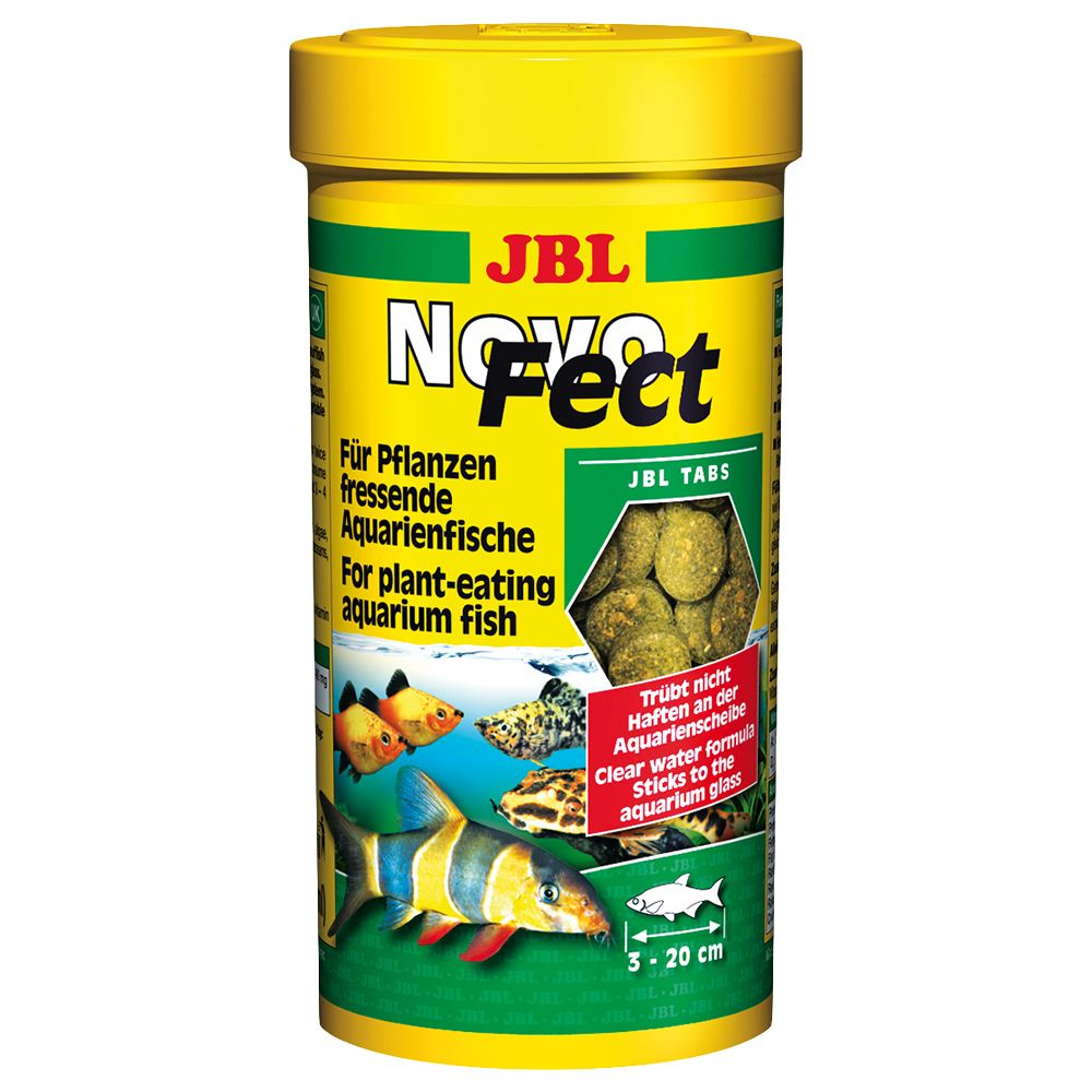 JBL NovoFect Tablets - for Ground-Feeding Fish - 250ml