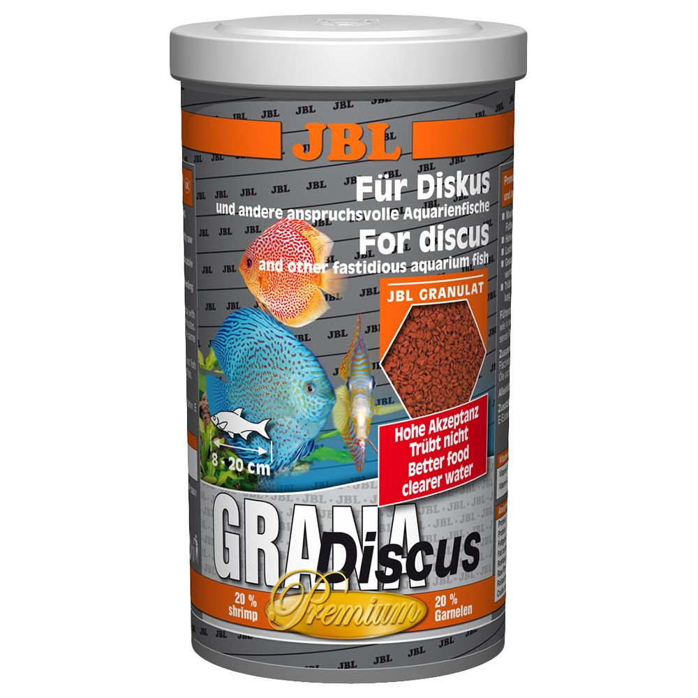 JBL GranaDiscus Granules - for Discus Fish - 1000ml