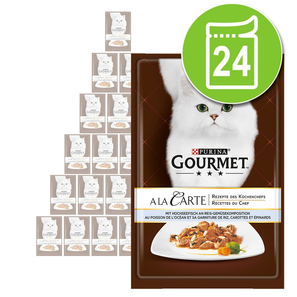 Megapack Gourmet A la Carte 24 x 85 g - Forelle an feinem Gemüse