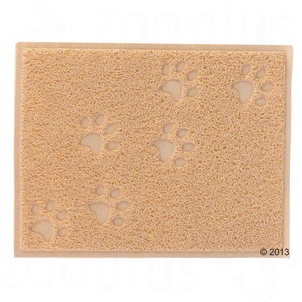 Katzentoilettenvorleger Pfötchen - beige