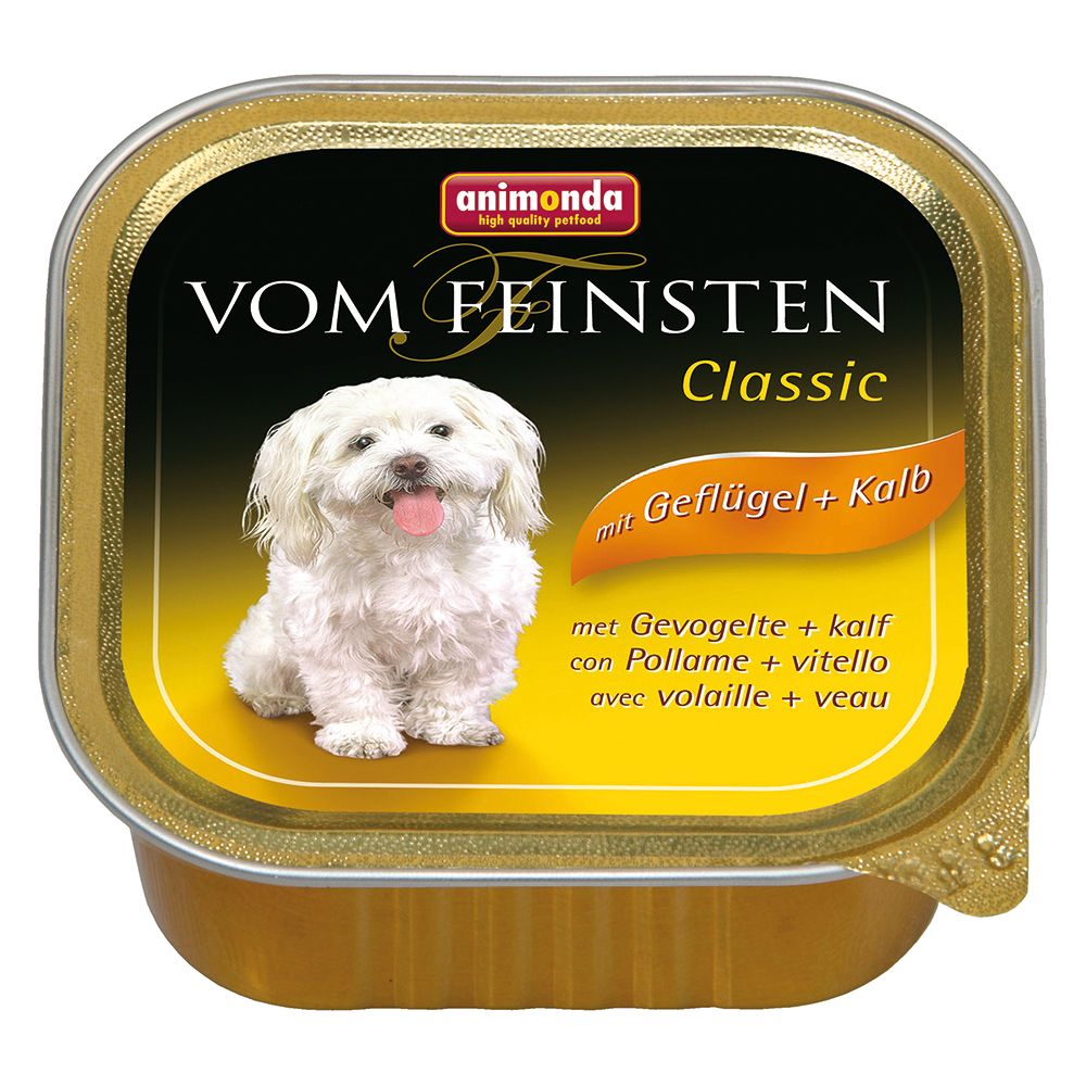 Animonda vom Feinsten Adult Grain-Free 6 x 150g - Beef & Turkey Hearts