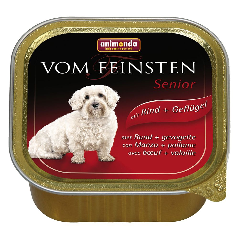 Animonda vom Feinsten Senior 6 x 150g - Poultry & Lamb