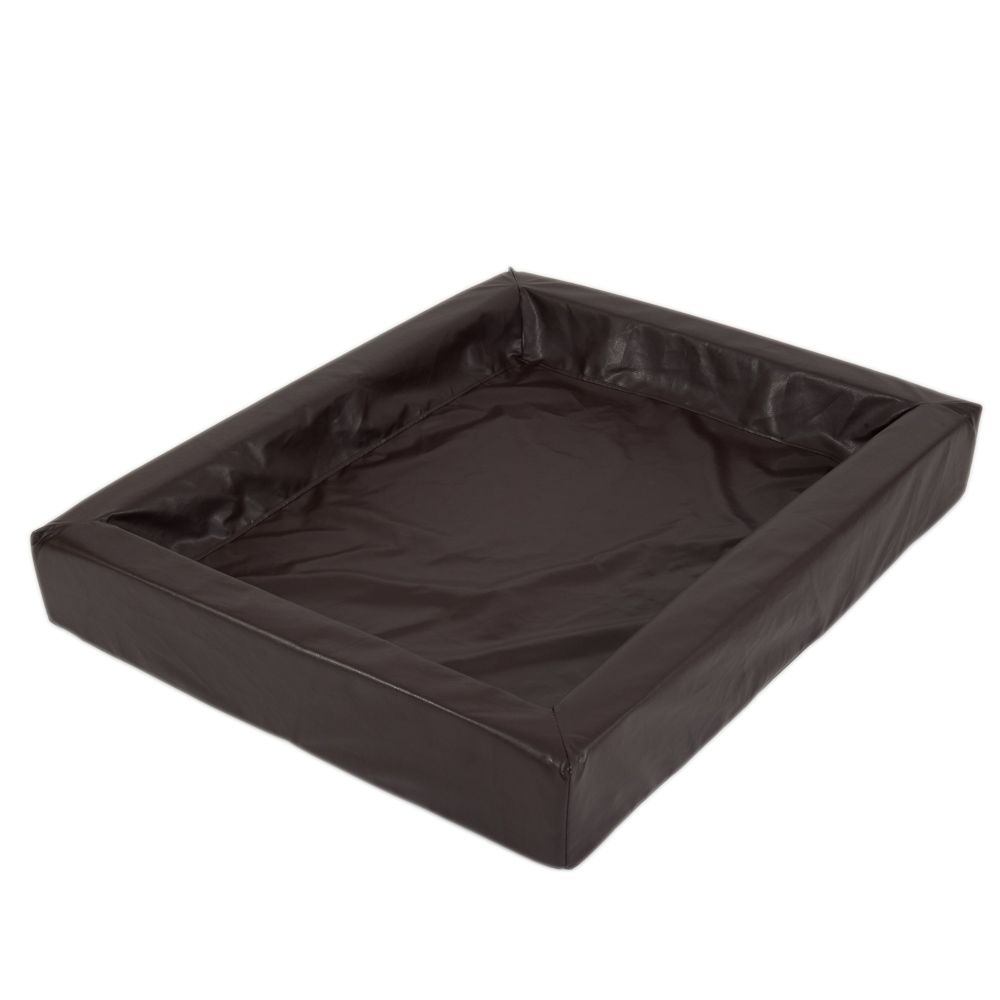 Hygienic Dog Bed - Tobacco Brown: 85 x 70 cm (L x W)