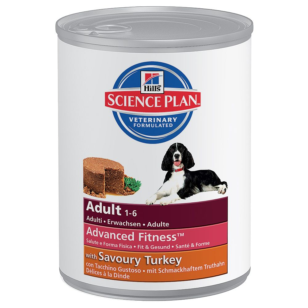 Hill's Science Plan Adult Advanced Fitness - 6 x 370g Beef