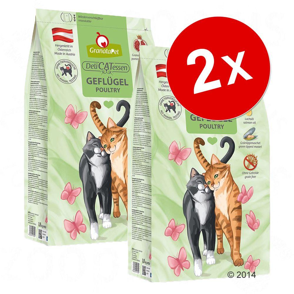 2x9kg Adult canard GranataPet pour chat - Croquettes pour chat
