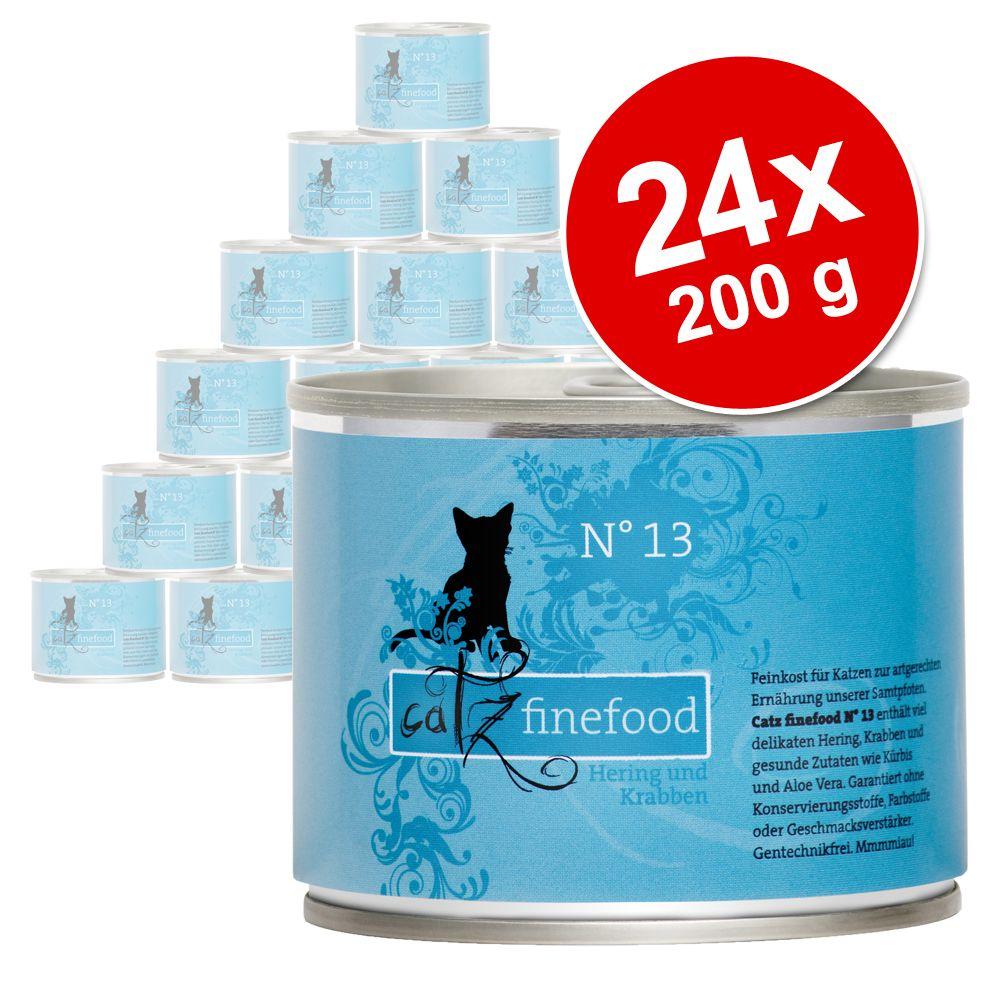 Sparpaket Catz Finefood 24 x 200 g - gemischtes Paket II
