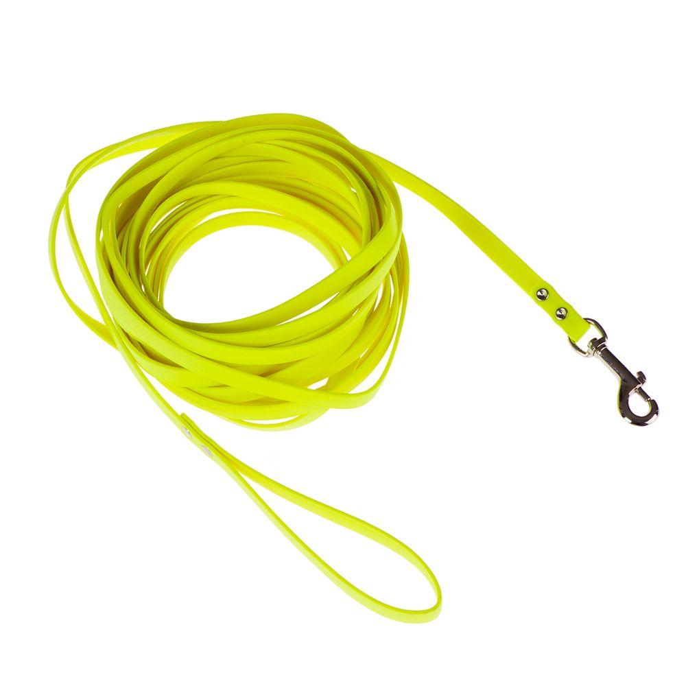 Heim Biothane® Suchleine - neon-gelb - 5 m lang, 13 mm breit