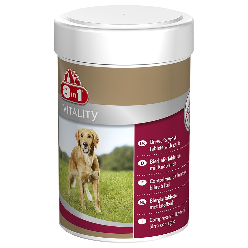 8in1 Vitality Brewer's Yeast - 260 tablets