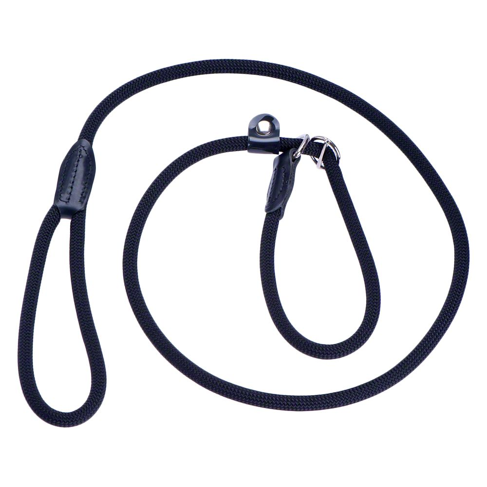 Black Hunter Adjustable Retriever Slip Dog Lead