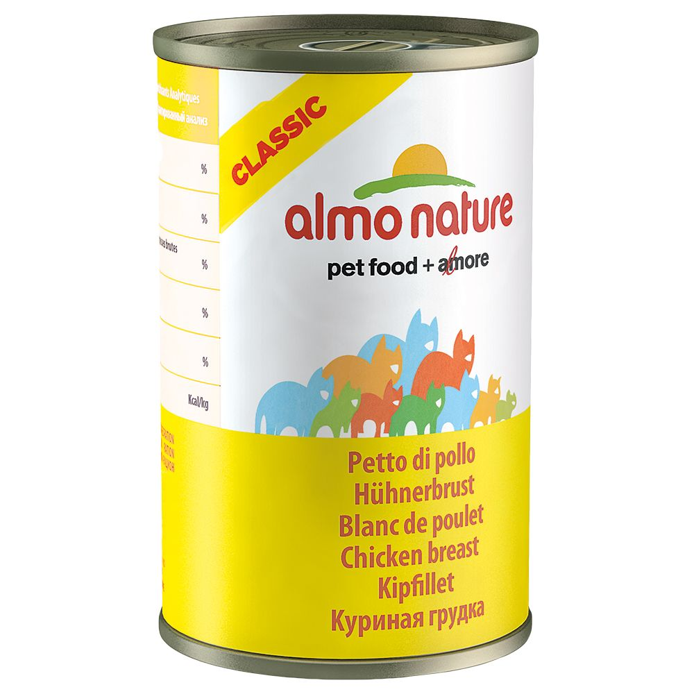 Almo Nature Classic Saver Pack 12 x 140g - Tuna, Chicken & Ham