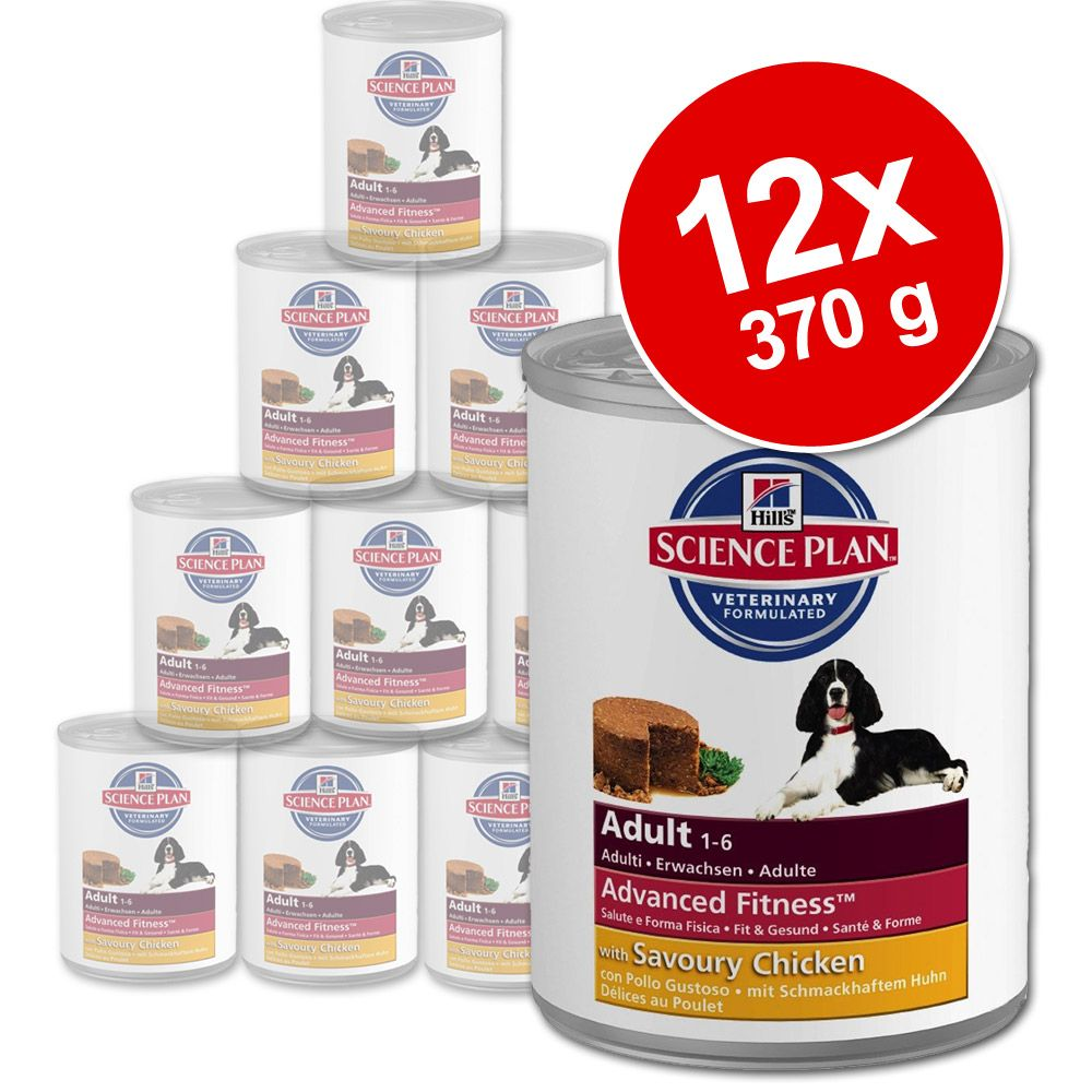 Foto Hill's Science Plan Canine 12 x 370 g - Mature 7+ con Pollo