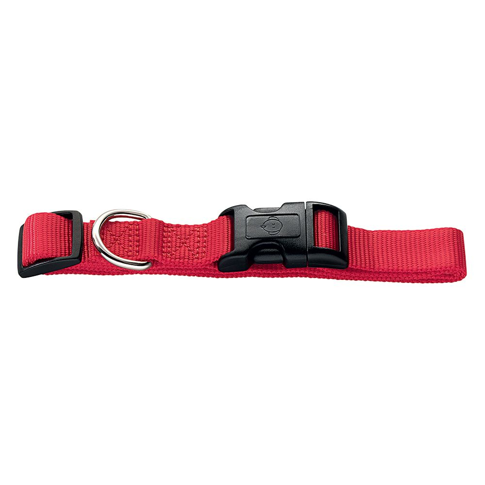 Hunter Vario Basic Ecco Sport Dog Collar - Red - Size S