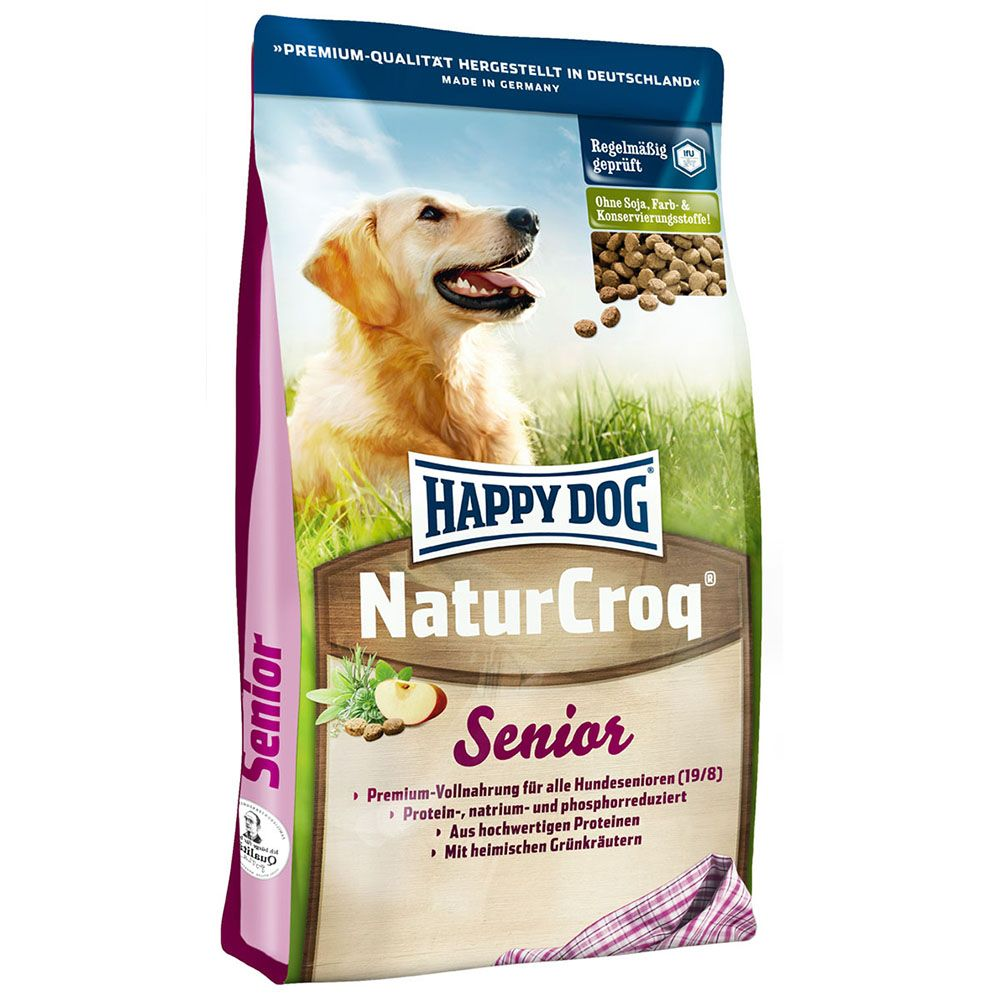Foto Happy Dog NaturCroq Senior - 15 kg Crocchette Happy Dog