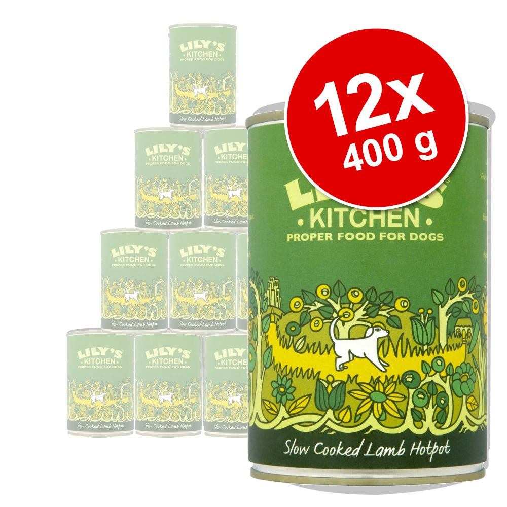 12 x 400 g Lily´s Kitchen Dinner - Homestyle Casserole mit Huhn & Truthahn