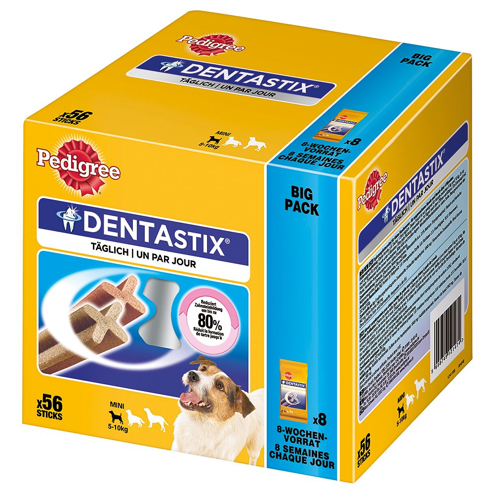 Pedigree Dentastix - 100 + 12 Free!* - Small Dogs (112 Sticks)