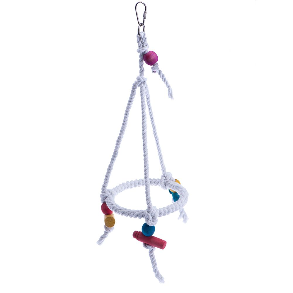 Rope Ring Hanging - Diameter approx. 20cm