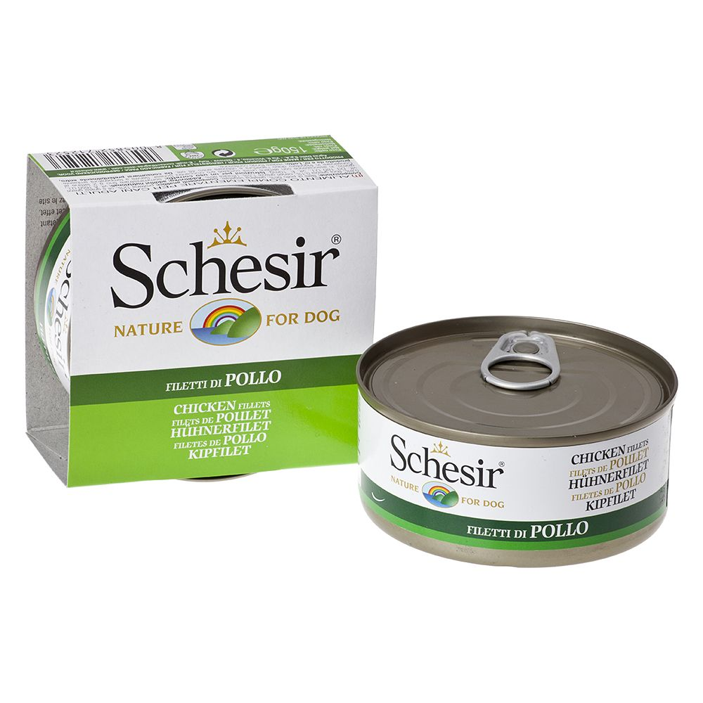 Schesir Adult Saver Pack 12 x 150g - Chicken