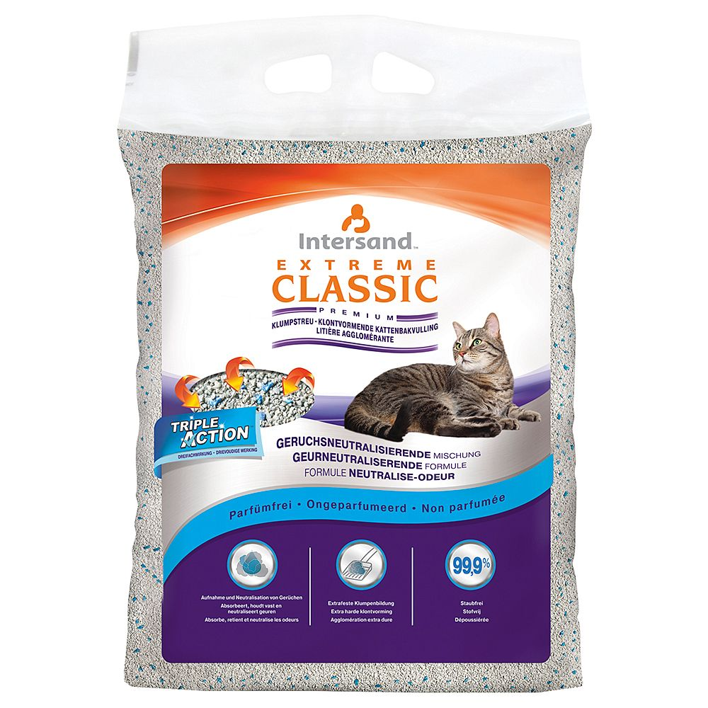 Extreme Classic Unscented Cat Litter - Economy Pack: 2 x 15kg