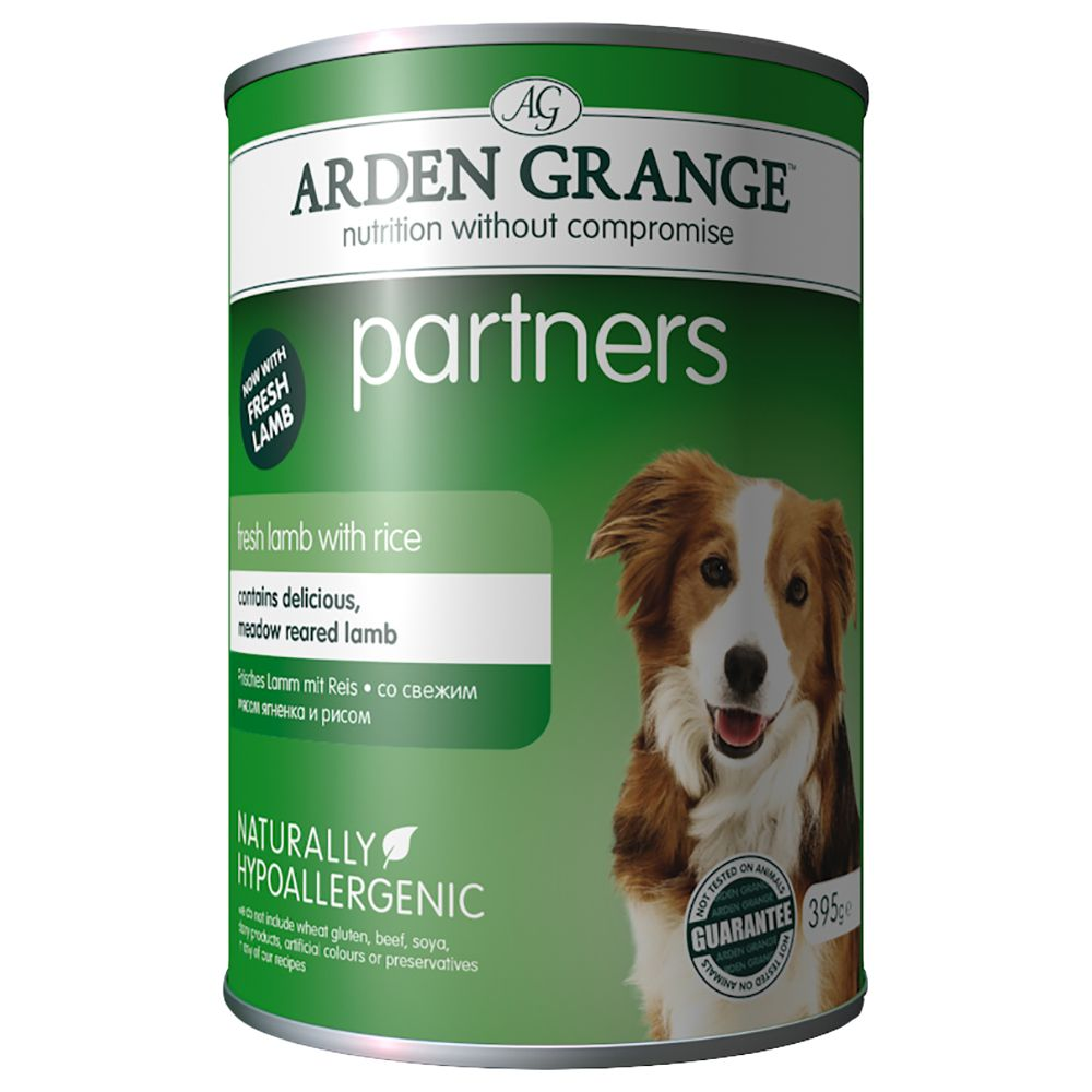 Lamb Rice & Vegetables Arden Grange Partners Wet Dog Food