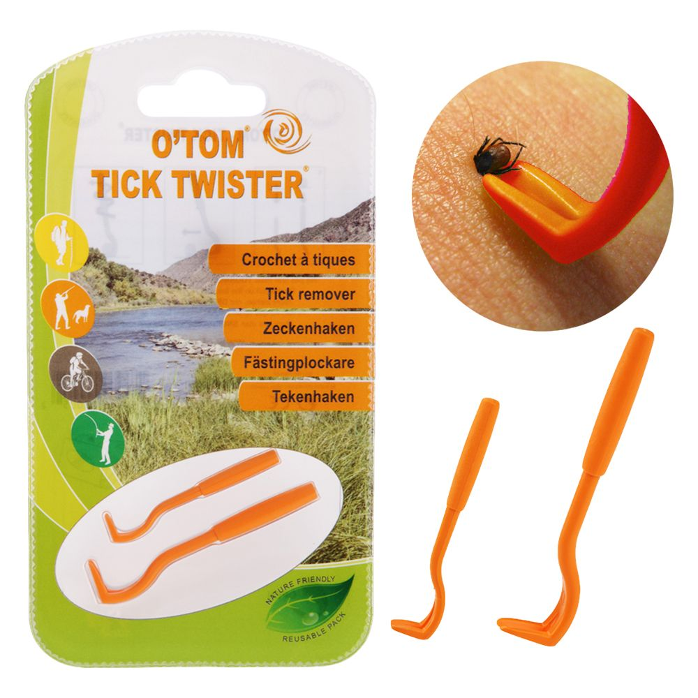 O'Tom Tick Hook - Single pack (orange)