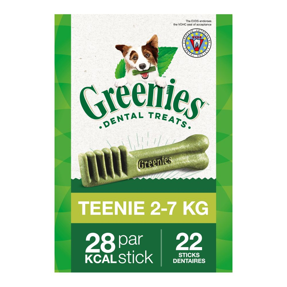 Greenies Teenie x43 / 340g - Friandises pour chien