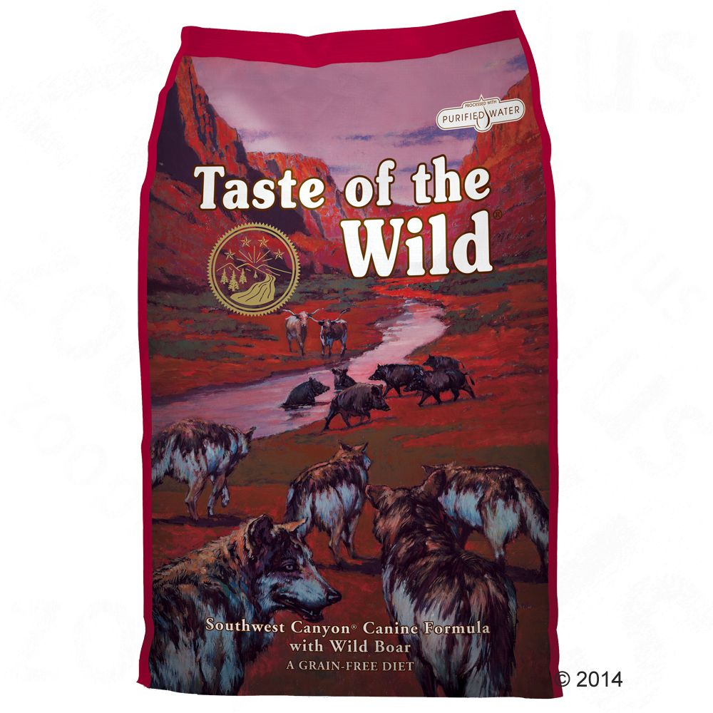 Taste of the Wild Southwest Canyon - 2 x 13 kg