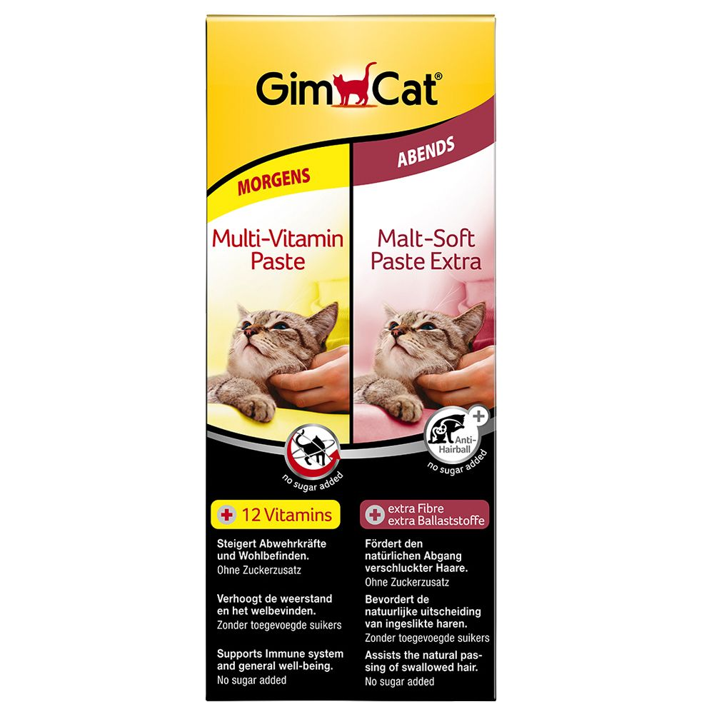 GimCat Multivitamin + Malt Dual Pack - 2 x 50g
