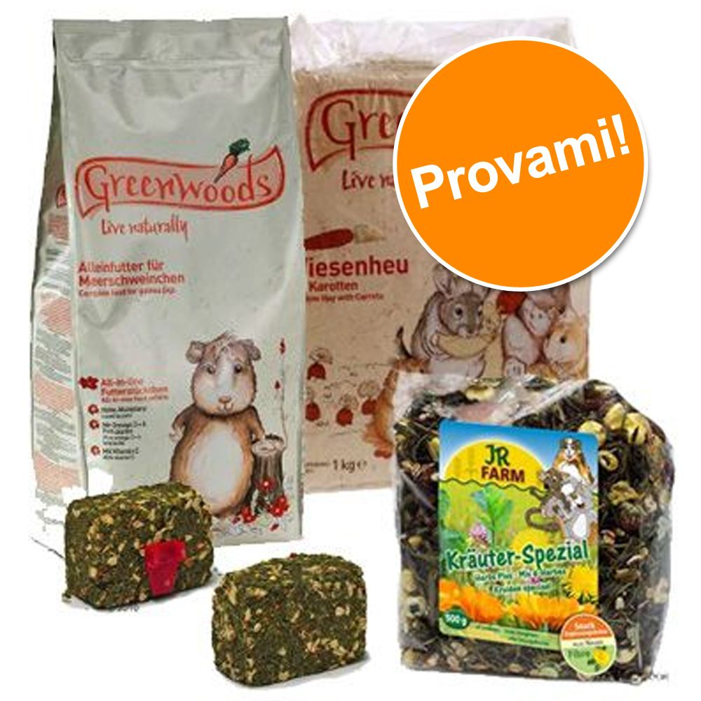 Foto Starter Set per porcellini d'India - Mela selvatica Greenwoods Small Animals Cibo