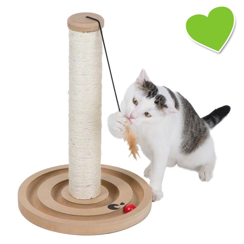 zoolove Scratch & Play drapak dla kota - Wys.: 43 cm, Ø 30 cm