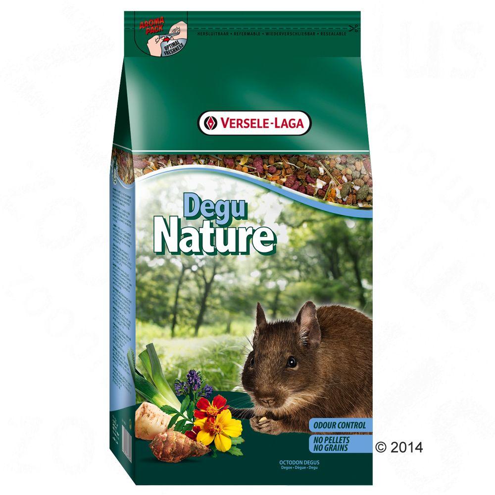 Nature Degu degufoder – Ekonomipack: 2 x 2,5 kg