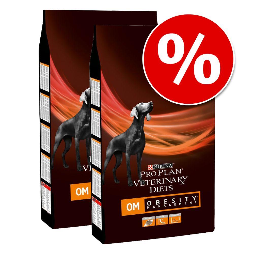 Ekonomipack: 2 x 12 kg Purina Veterinary Diets - HA Hypoallergenic (2 x 11 kg)